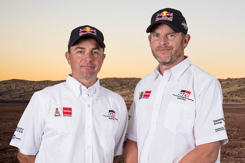 Dakar 2018, Dakar Rally, Toyota Gazoo Racing SA