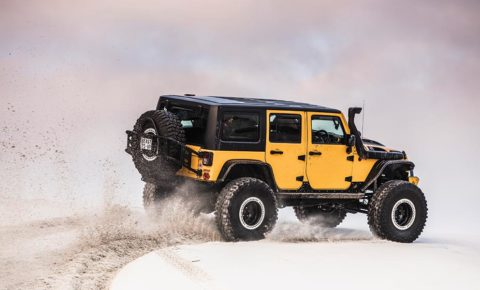 PROJECT 4×4: Jeep goes large