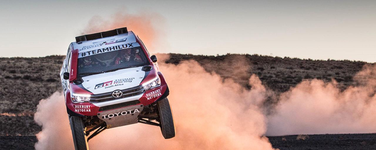 Dakar 2018: Toyota SA to race three vehicles