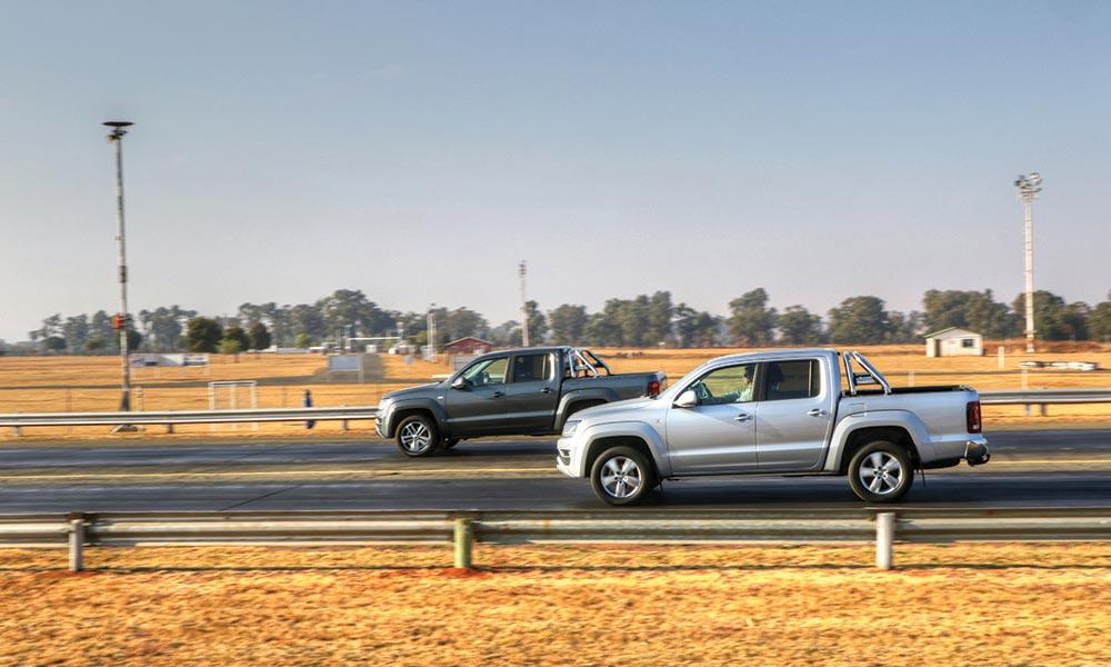 VW Amarok V6 vs Amarok 2 0BiTDI - Leisure Wheels