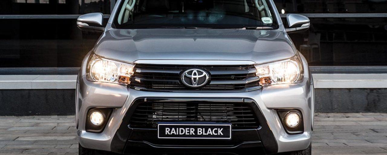 Toyota Hilux Black versus Ford Ranger Fx4