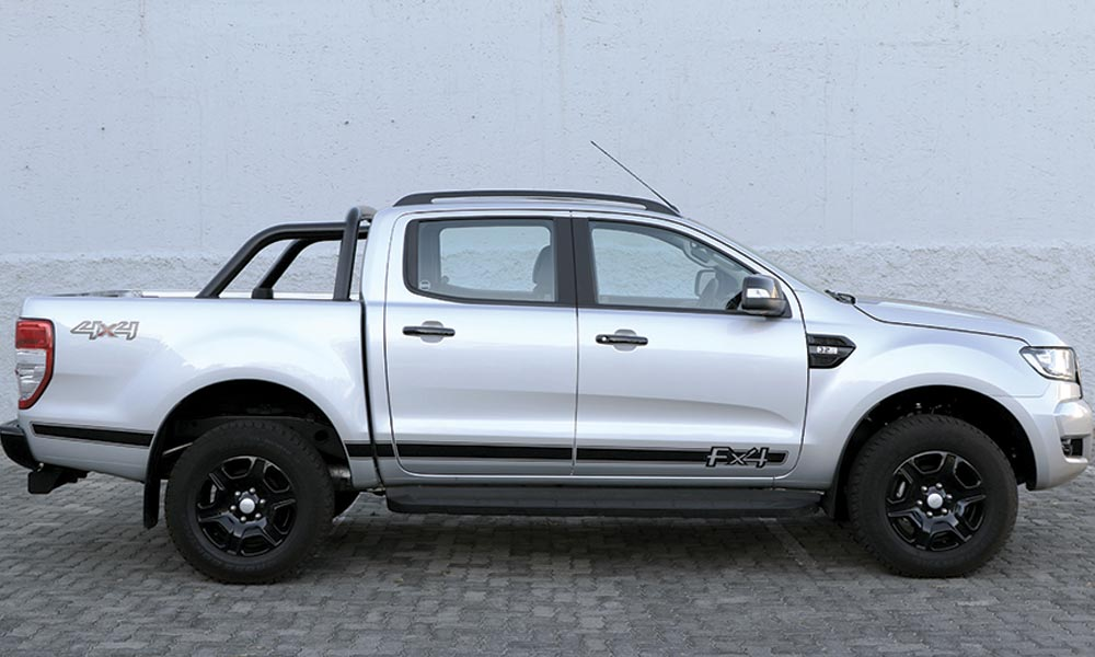 Toyota Hilux Black Versus Ford Ranger Fx4 Leisure Wheels