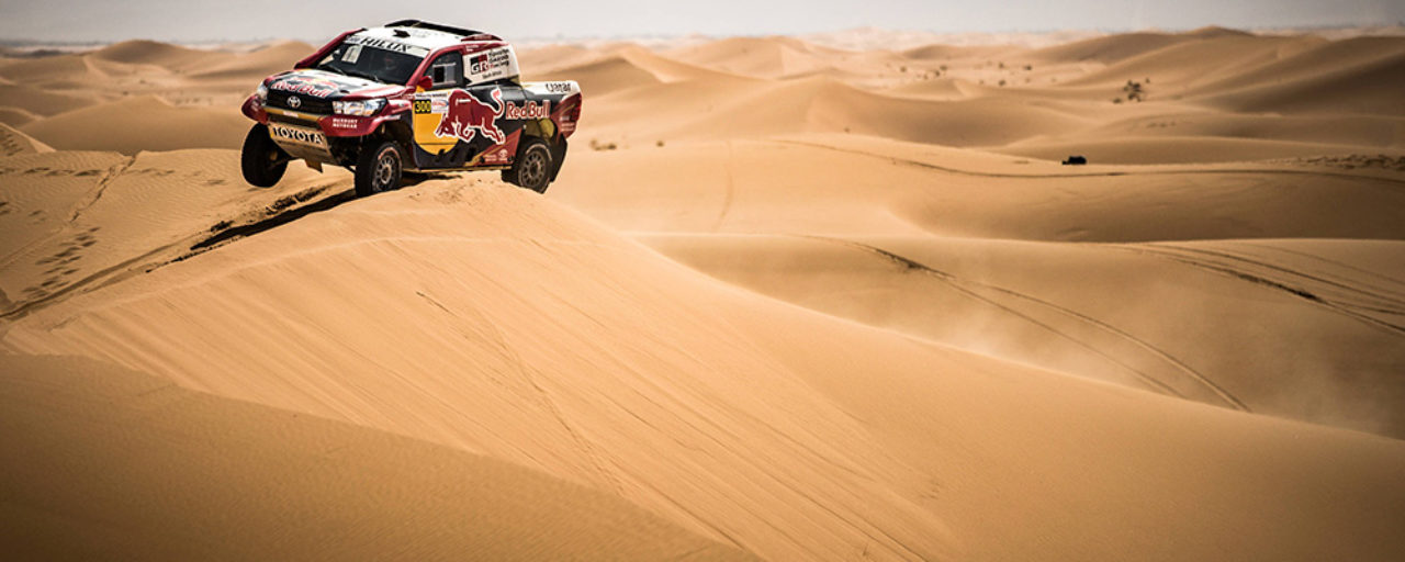 Nasser Al-Attiyah set his sights on victory at the Dakar