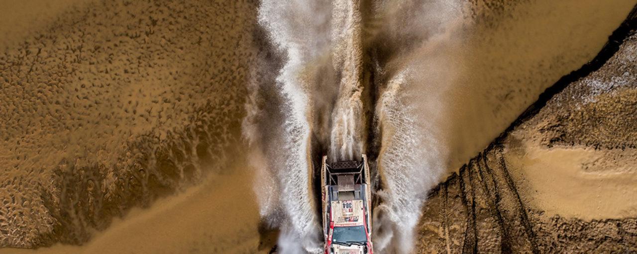 Dakar stage eight: Toyota Gazoo Racing SA crews safe