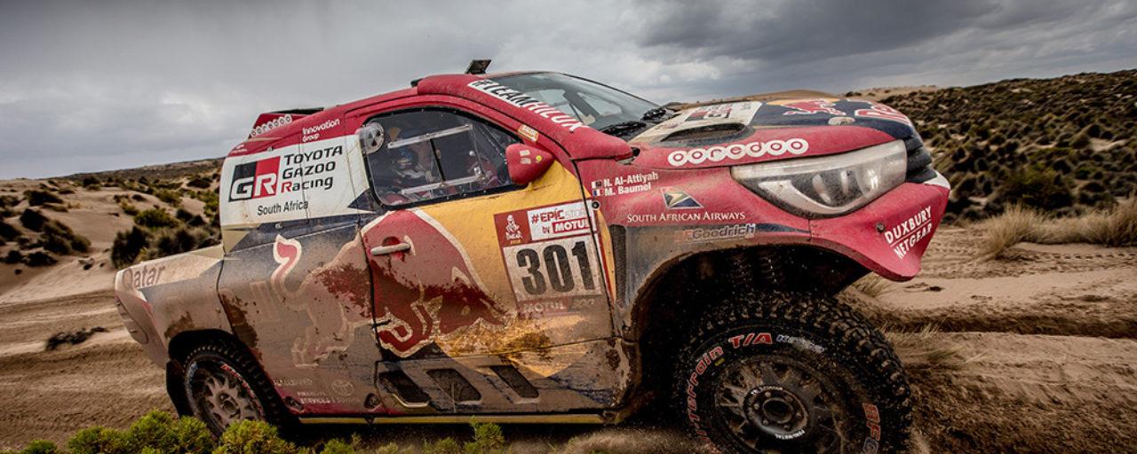 Dakar stage seven – exciting for Toyota Gazoo Racing SA