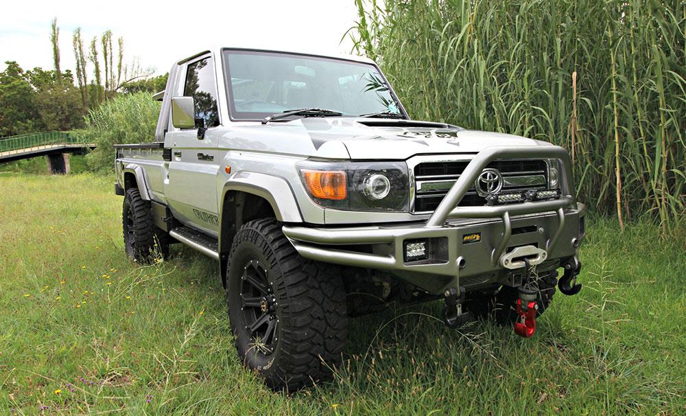 Toyota Land Cruiser 79 Gets More Grunt Leisure Wheels