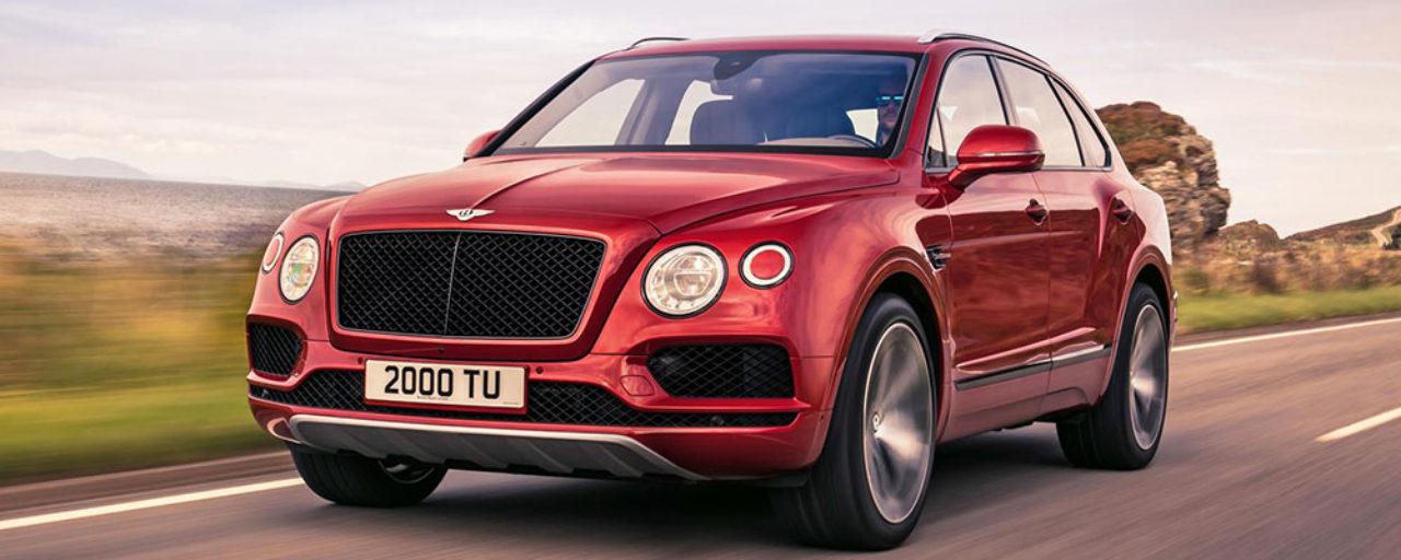 Bentley introduces new V8 Bentayga