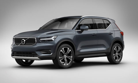Volvo's first three-cylinder engine to power new compact SUV