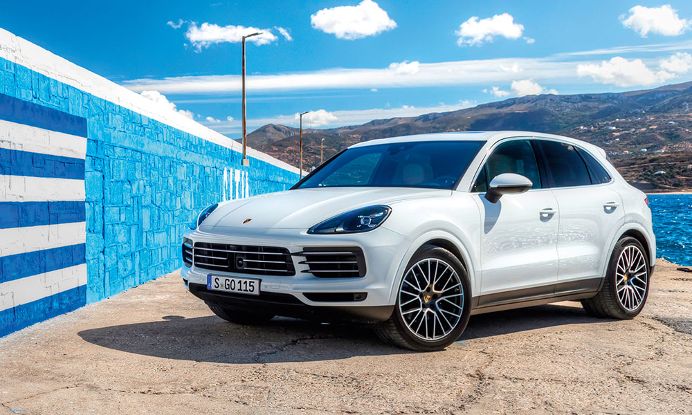2018 Porsche Cayenne S In Greece Leisure Wheels