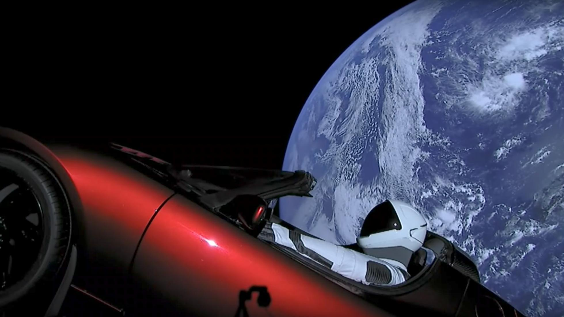 So...there is a Tesla Roadster in space - Leisure Wheels