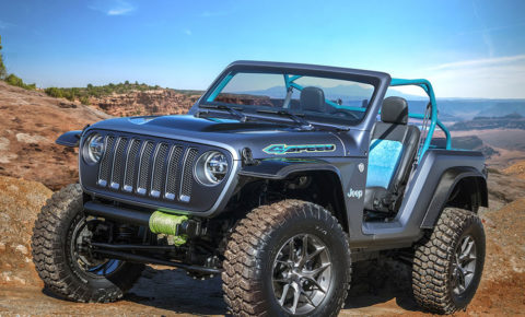 Jeep 4Speed concept unveiled ahead of Moab Easter Jeep Safari