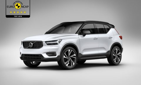 Volvo XC40 receives five stars for safety