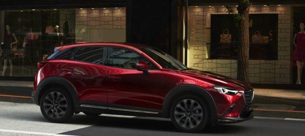 Mazda CX3 exterior