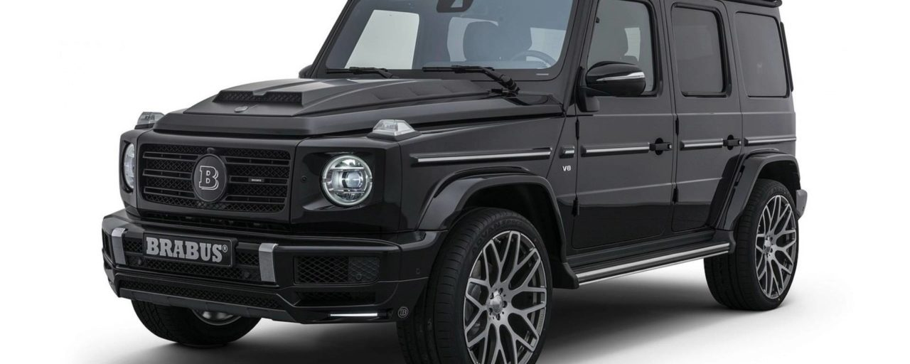 Brabus tunes the all-new Mercedes G500