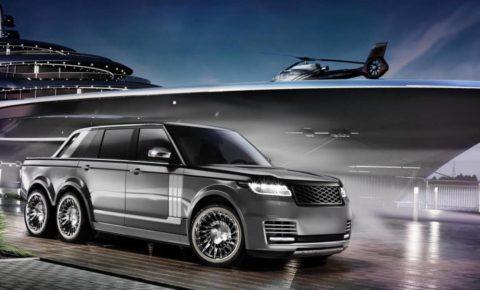 Introducing the Range Rover bakkie