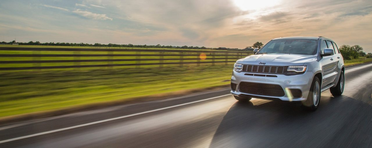 Hennessey Jeep TrackHawk sets quarter mile record