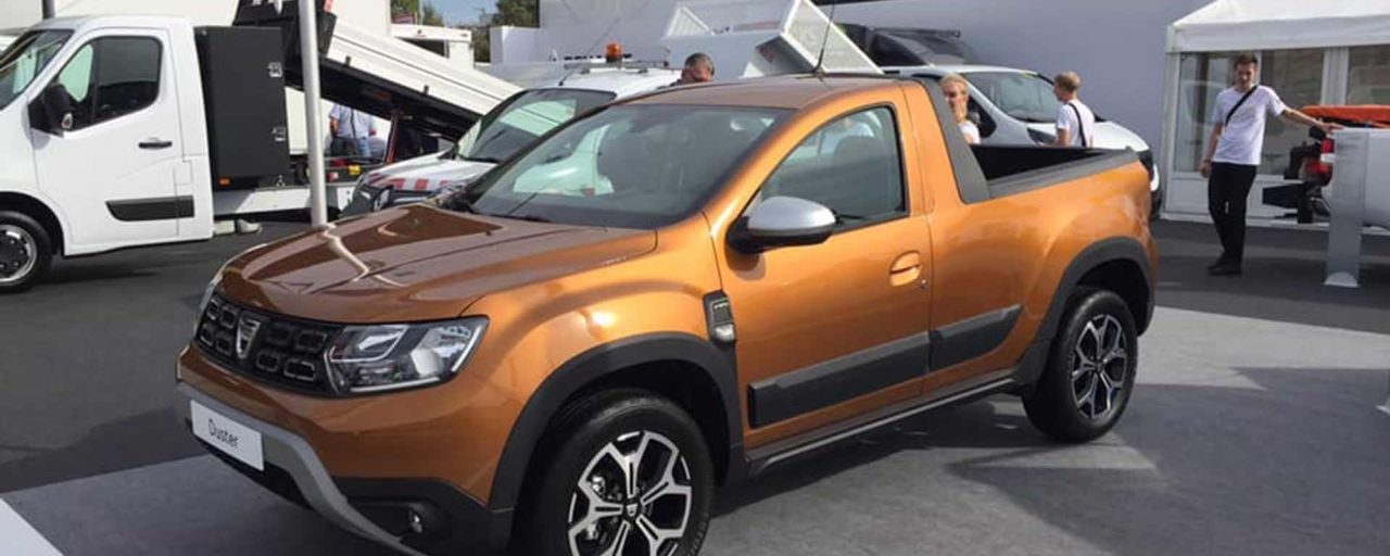 Behold the single cab Renault Duster bakkie