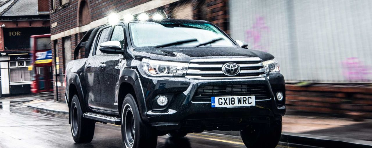 Meet the Toyota Hilux Invincible 50