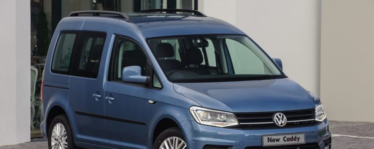 New Volkswagen Caddy 1.0T for the masses