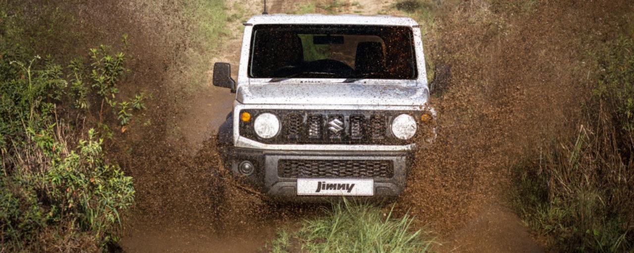 Off-road test: 2018 Suzuki Jimny GLX manual