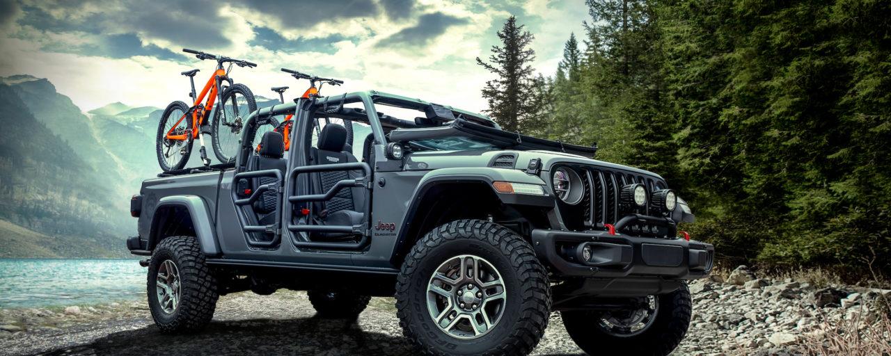 Mopar accessories aplenty for Jeep Gladiator