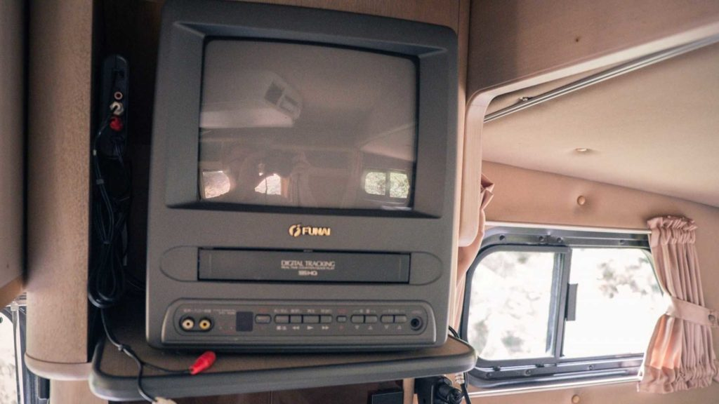 A look back at the 1993 Hilux Galaxy Camper - Leisure Wheels