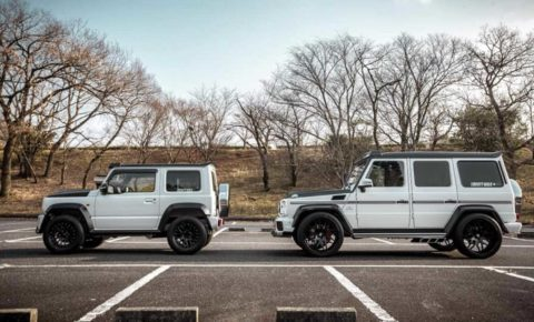 Liberty Walk Jimny And G Class Side By Side Leisure Wheels