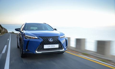 Lexus launches all-new UX in SA