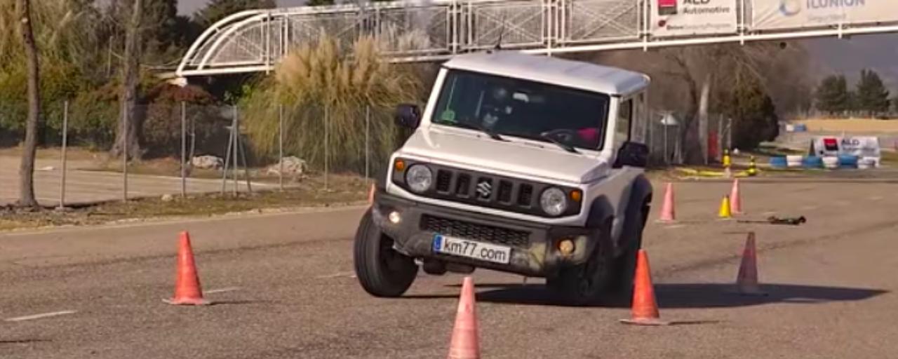 Moose Test back to haunt the Suzuki Jimny