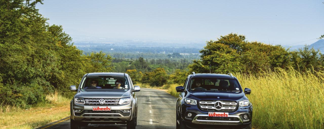 VW Amarok V6 VS Mercedes-Benz X350d V6