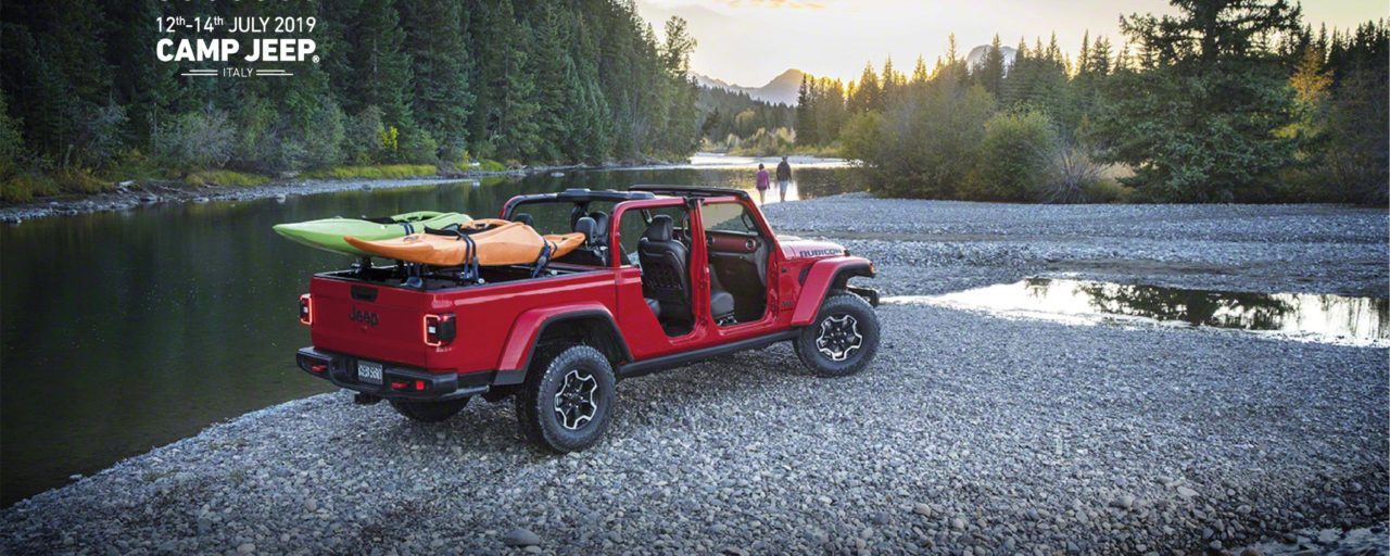 Camp Jeep 2019 will take place in Italy