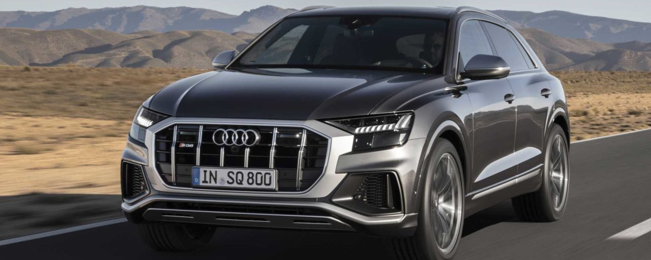 Audi introduces SQ8 with biturbo V8 diesel engine