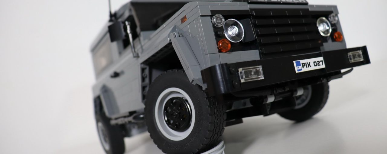 Fully electric Land Rover Defender made from Lego [w/video]