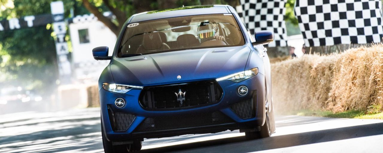 Maserati Levante Trofeo makes debut at Festival of Speed