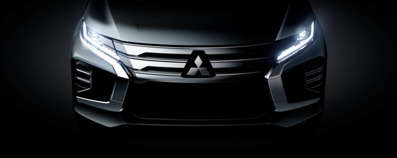 Mitsubishi releases first image of facelifted Pajero Sport