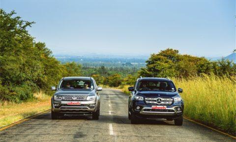 Road test: VW Amarok 3.0TDI V6 vs Mercedes-Benz X350d