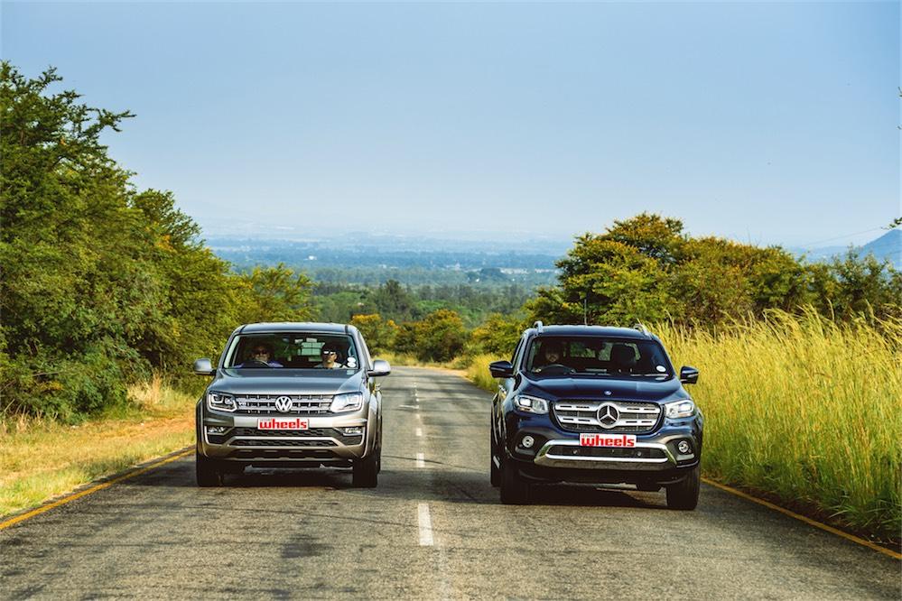 VW Amarok V6 VS Mercedes-Benz X350d V6 - Leisure Wheels