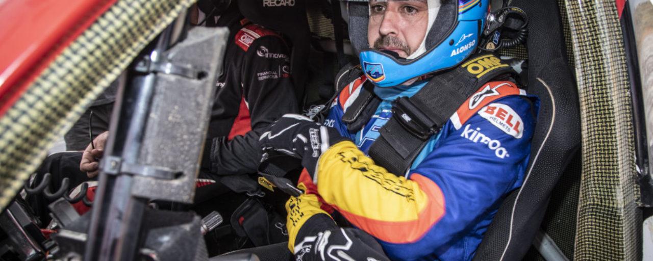 Fernado Alonso and Marc Coma to partner for Dakar 2020