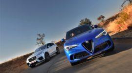 Jaguar F-Pace SVR VS Alfa Romeo Stelvio Quadrifoglio