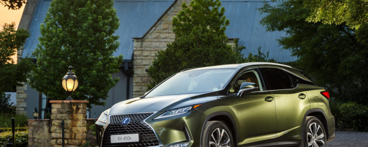 Lexus RX receives a mid-life makeover
