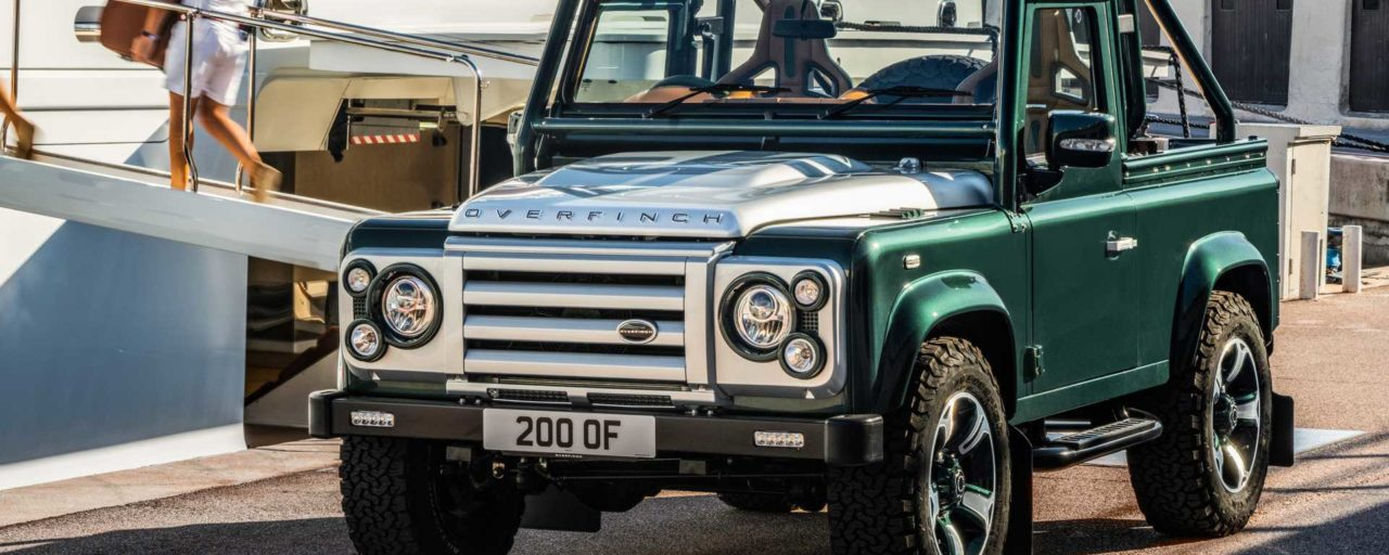 Overfinch builds once-off soft-top Defender with V8 power