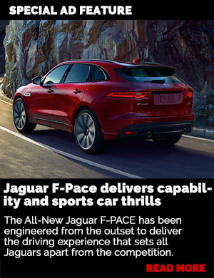 Sponsored feature: Jaguar F-Pace delivers capability and sports car thrills