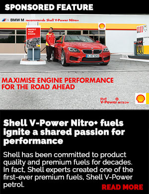 SPONSORED FEATURE:  Shell V-Power Nitro+ fuels ignite a shared passion for performance