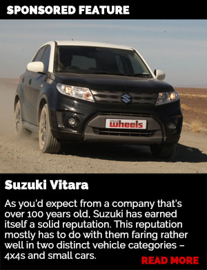 Sponsored feature: Suzuki Vitara